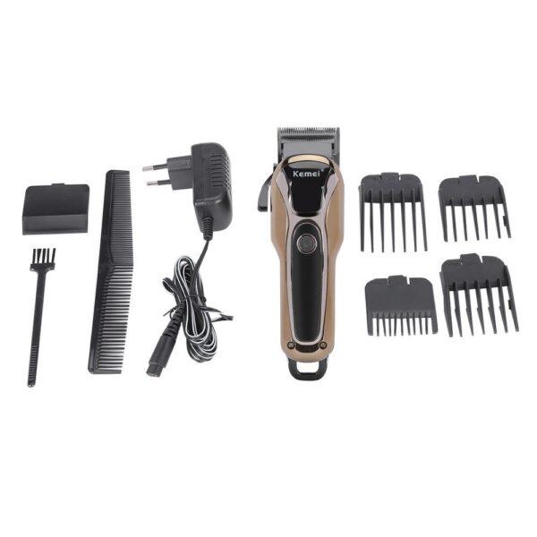 Tông đơ cắt tóc kemei 1990 (đèn led   turbo   5 w   2 - 3h) 10 - kemei 1990 1