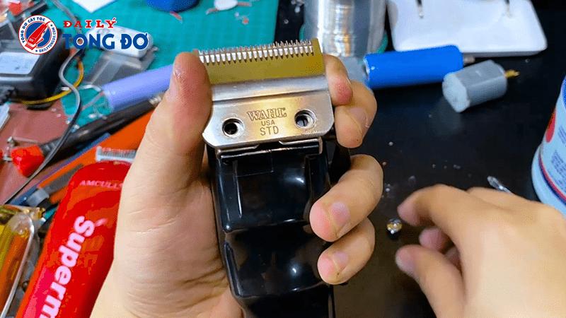 Cách sử dụng tông đơ cắt tóc