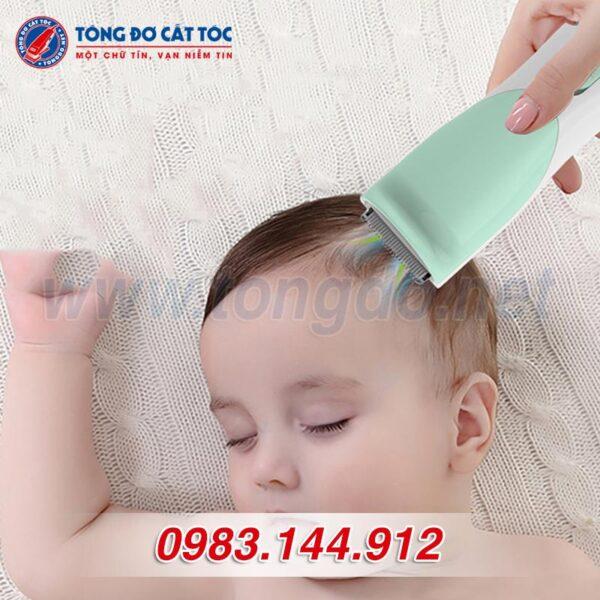 Tông đơ cắt tóc hút tóc thông minh t520a 12 - tong do hut toc cho be
