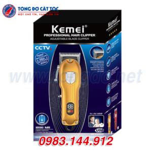 Tông đơ cắt tóc kemei km-802 10 - kemei 802. 3