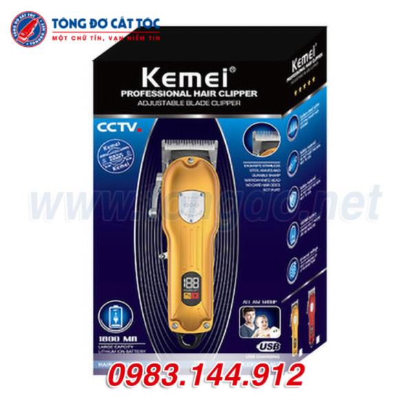 Tông đơ cắt tóc kemei km-802 5 - kemei 802. 3